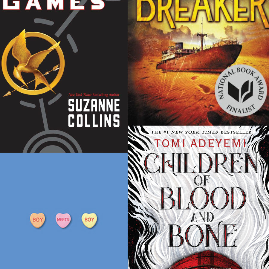 NYPL 125 Books We Love for Teens: Mystery Set