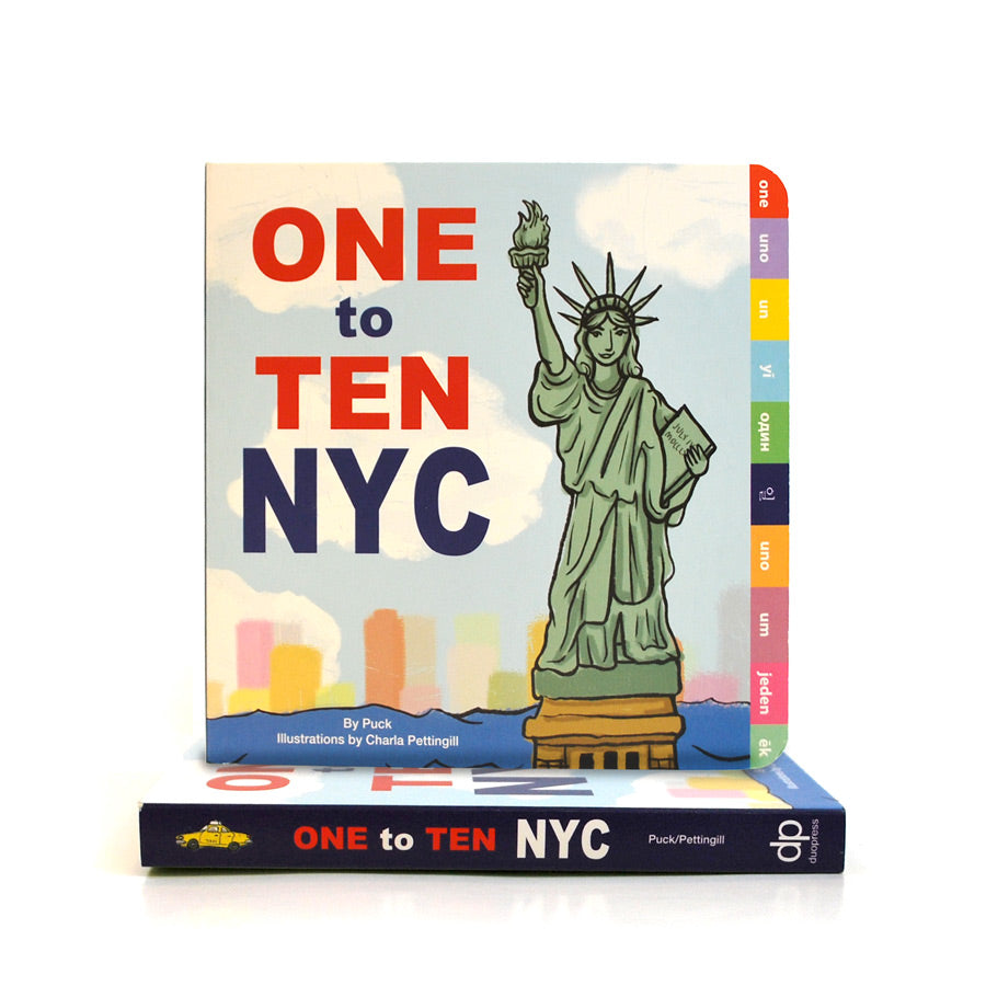 Cover features a cartoon illustration of the Statue of Liberty.