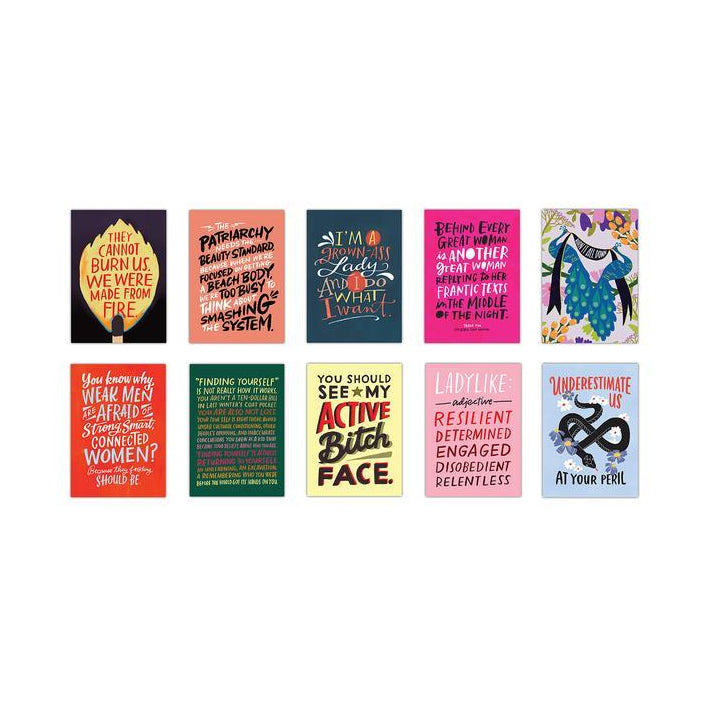 Feminist Postcards Book - The New York Public Library Shop