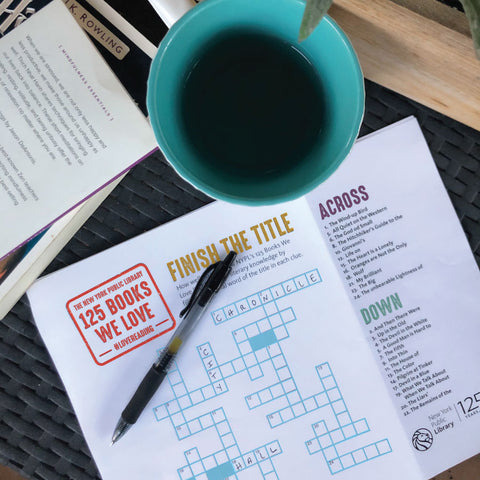 Printable Crossword: Finish the Title