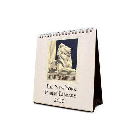 2020 New York Public Library Desk Calendar