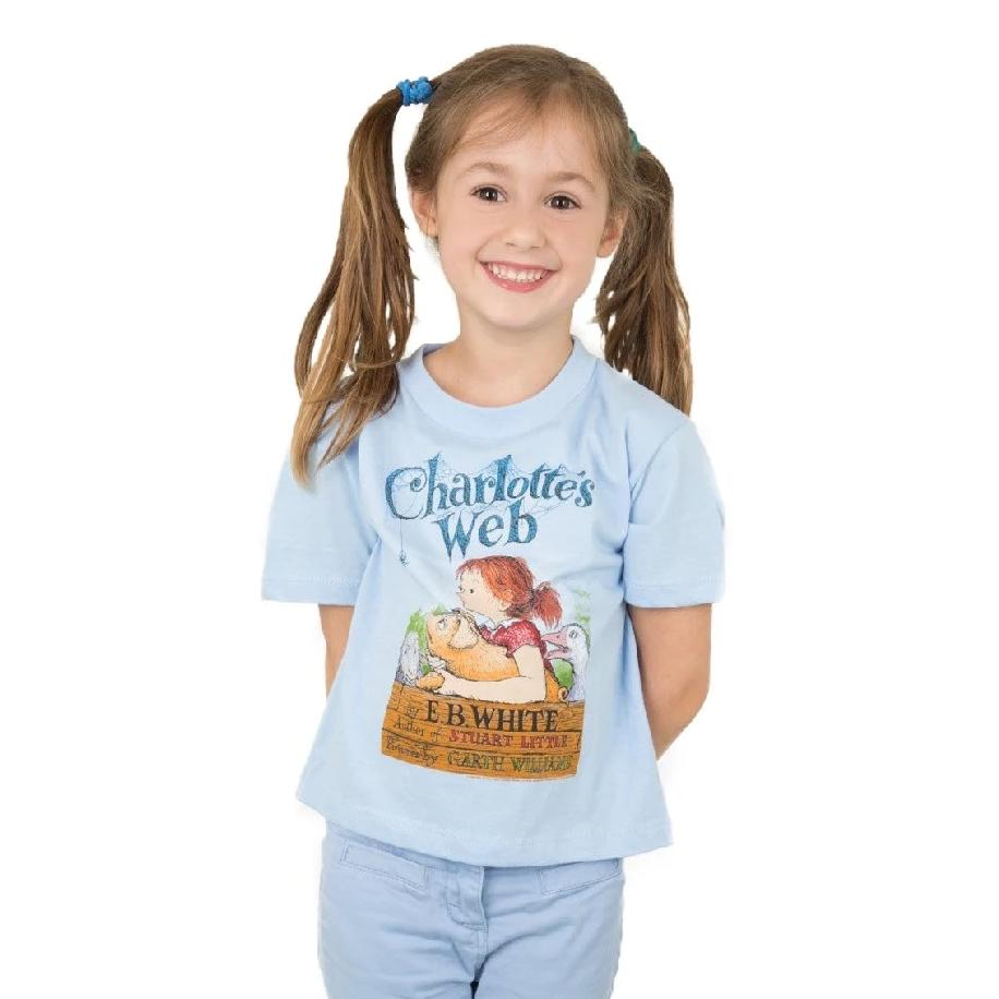 Charlotte's Web Kids T-Shirt - The New York Public Library Shop