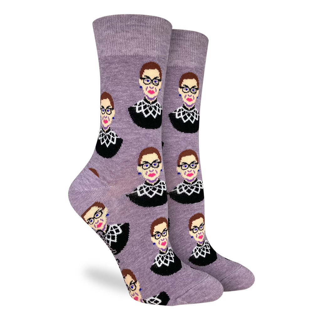 RBG Women's Purple Socks