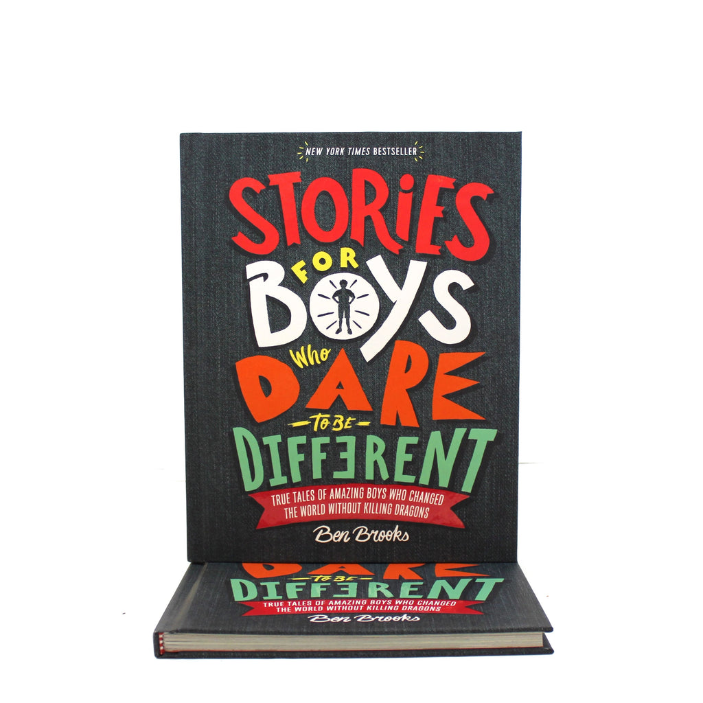 Stories for Boys Who Dare to Be Different: True Tales of Amazing Boys Who Changed the World Without Killing Dragons - The New York Public Library Shop