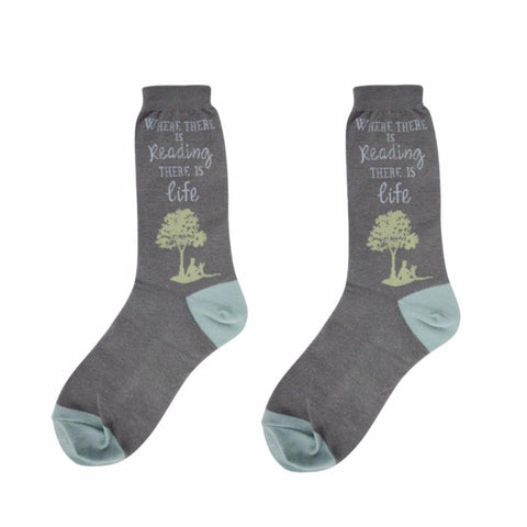 Reading Life Women Socks