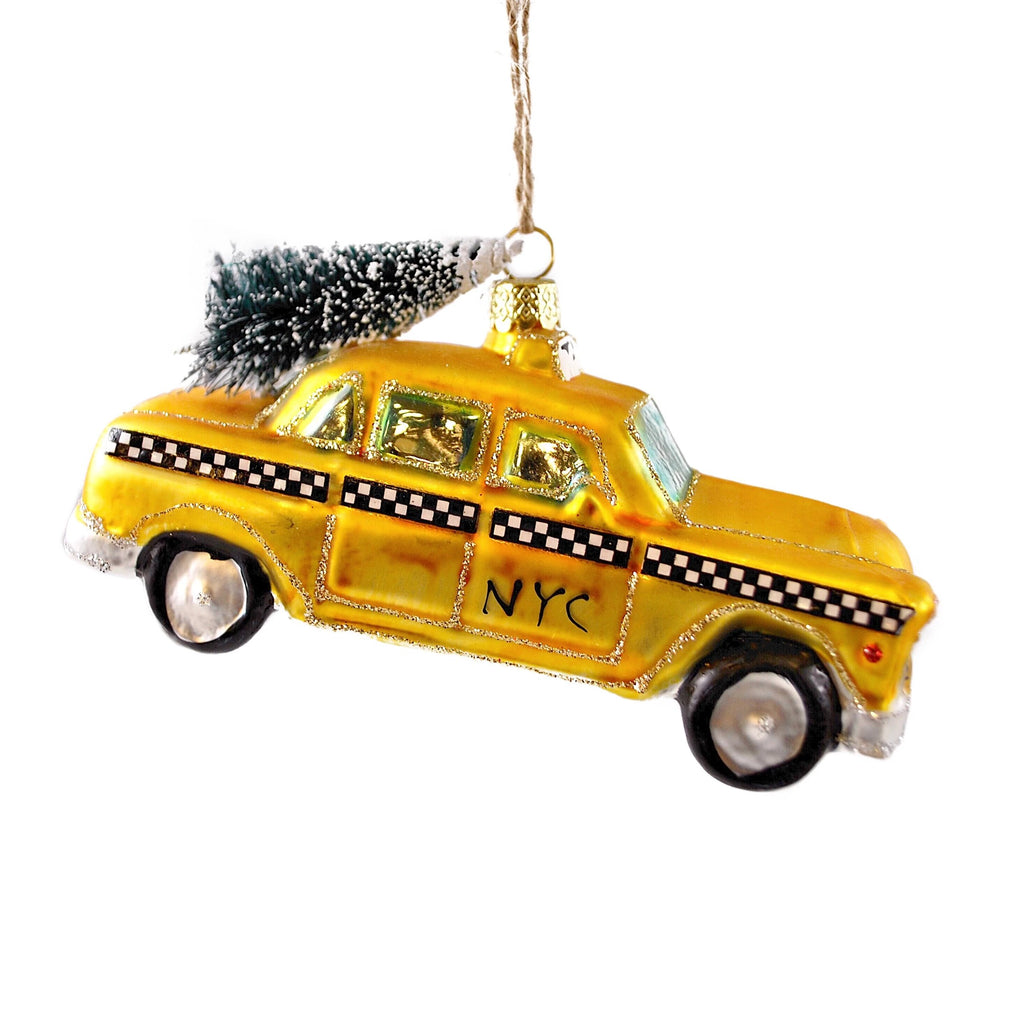 NYC Taxi Cab Ornament - The New York Public Library Shop
