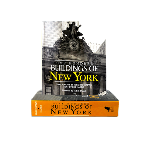 FIVE HUNDRED BUILDINGS OF NEW YORK - The New York Public Library Shop