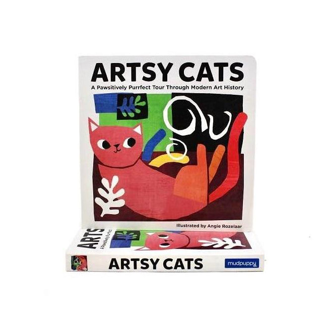 Artsy Cats Board Book - The New York Public Library Shop