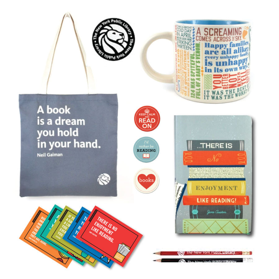 Bookish Tote Gift Set