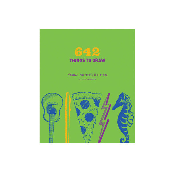 642 Things to Draw: Young Artists - The New York Public Library Shop