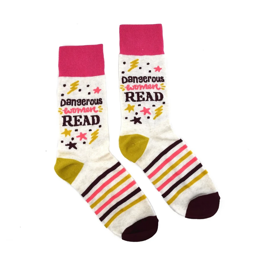 Dangerous Women Read Socks - The New York Public Library Shop