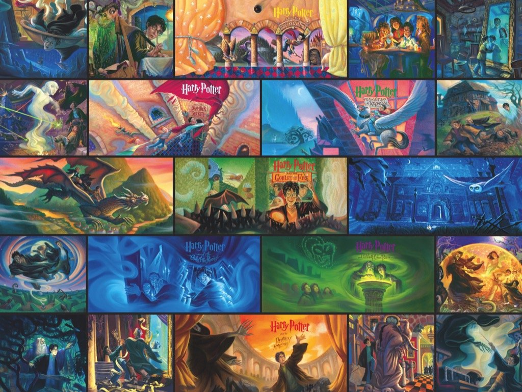 Harry Potter Collage Puzzle - The New York Public Library Shop