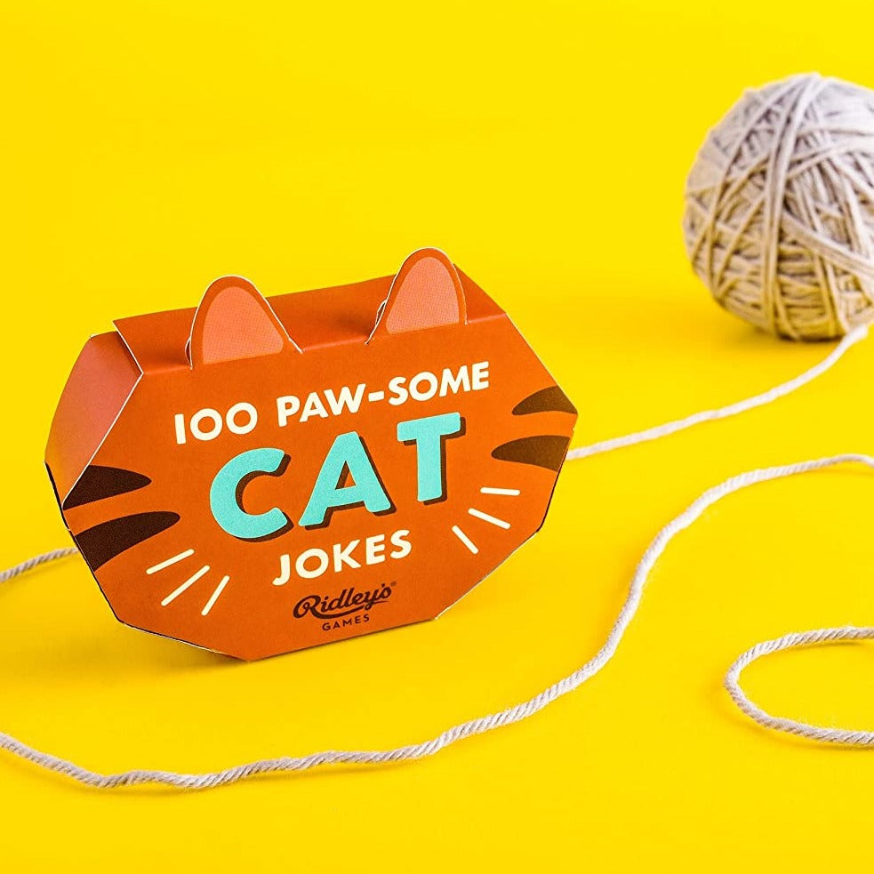 100 Paw-Some Cat Joke Cards