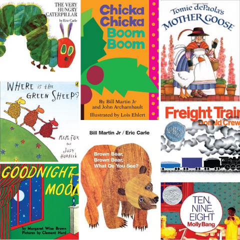 Great Baby and Toddler Books