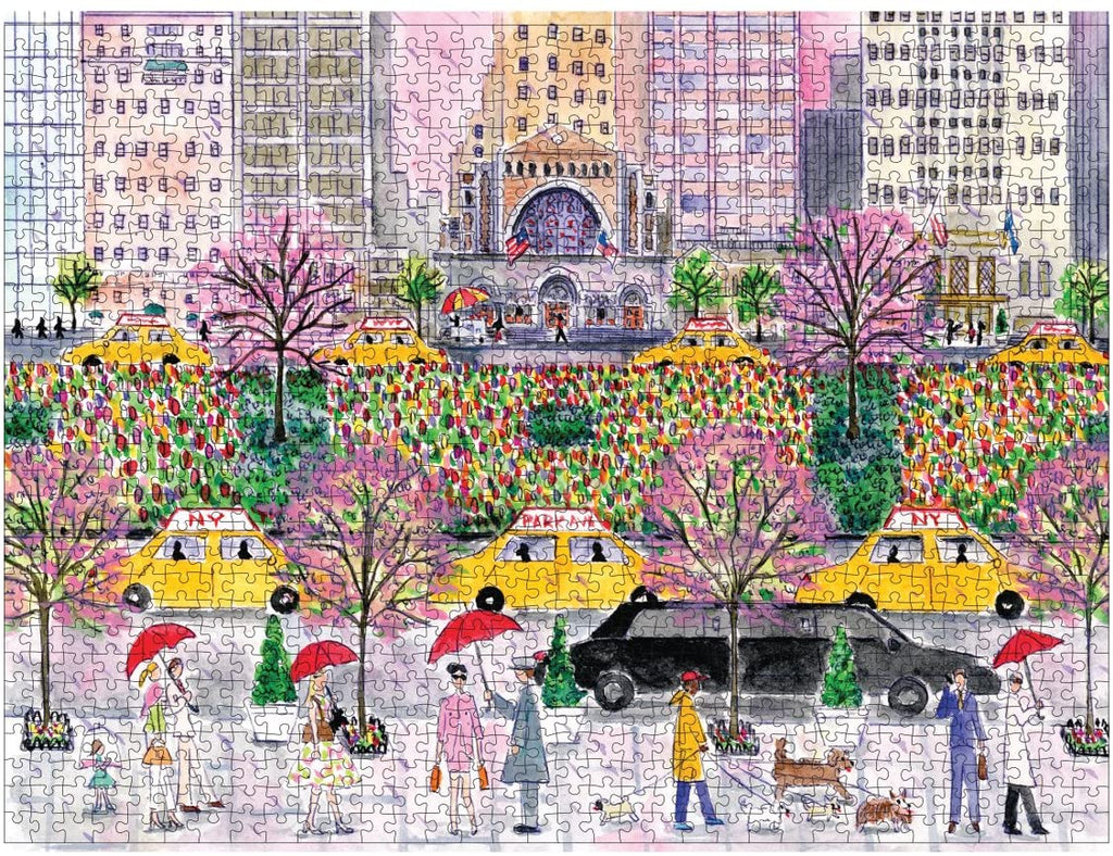 Spring on Park Avenue Puzzle - The New York Public Library Shop