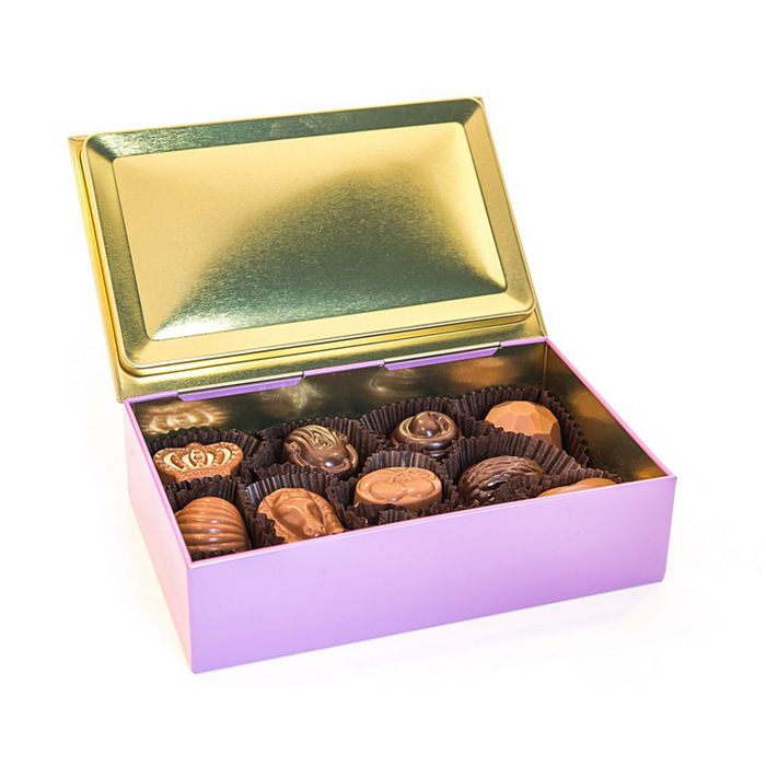 Twelve-Piece Chocolate Truffle Tins