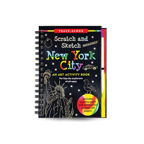 New York City Scratch & Sketch (Trace Along)