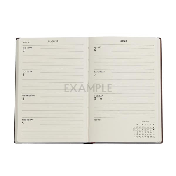 Flexi 2021/2022 Black Moroccan 18-Month Planner