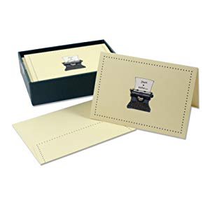 Typewriter Note Card Set - The New York Public Library Shop
