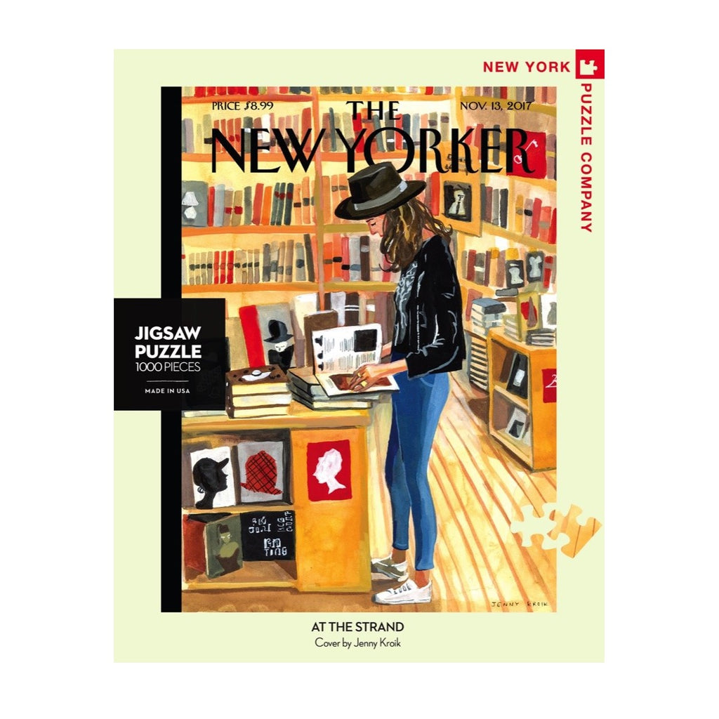 At the Strand New Yorker Puzzle - The New York Public Library Shop