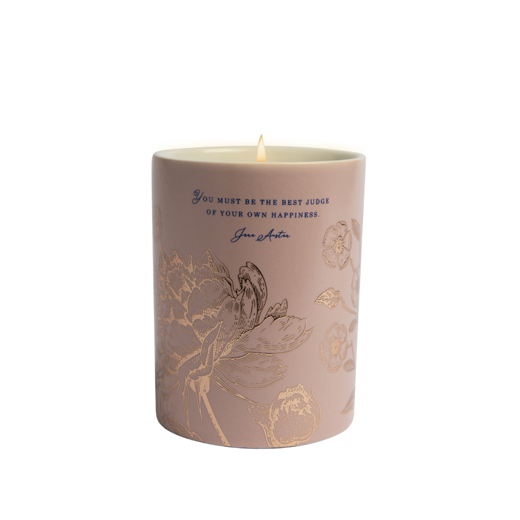 Jane Austen: Be The Best Judge Scented Candle