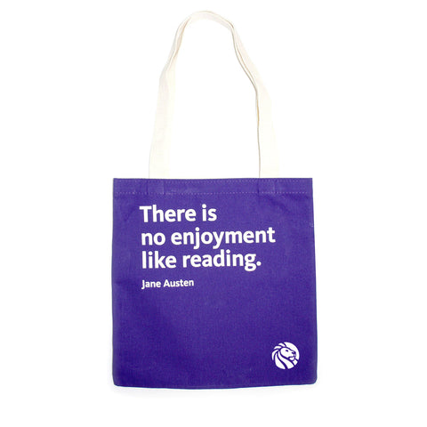 NYPL Jane Austen Tote Bag - The New York Public Library Shop