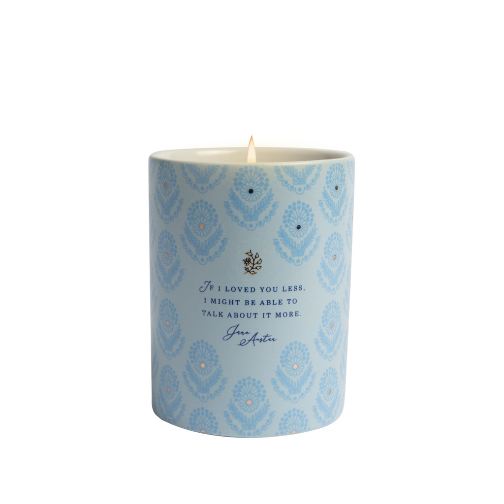 Jane Austen: If I Loved You Less Scented Candle
