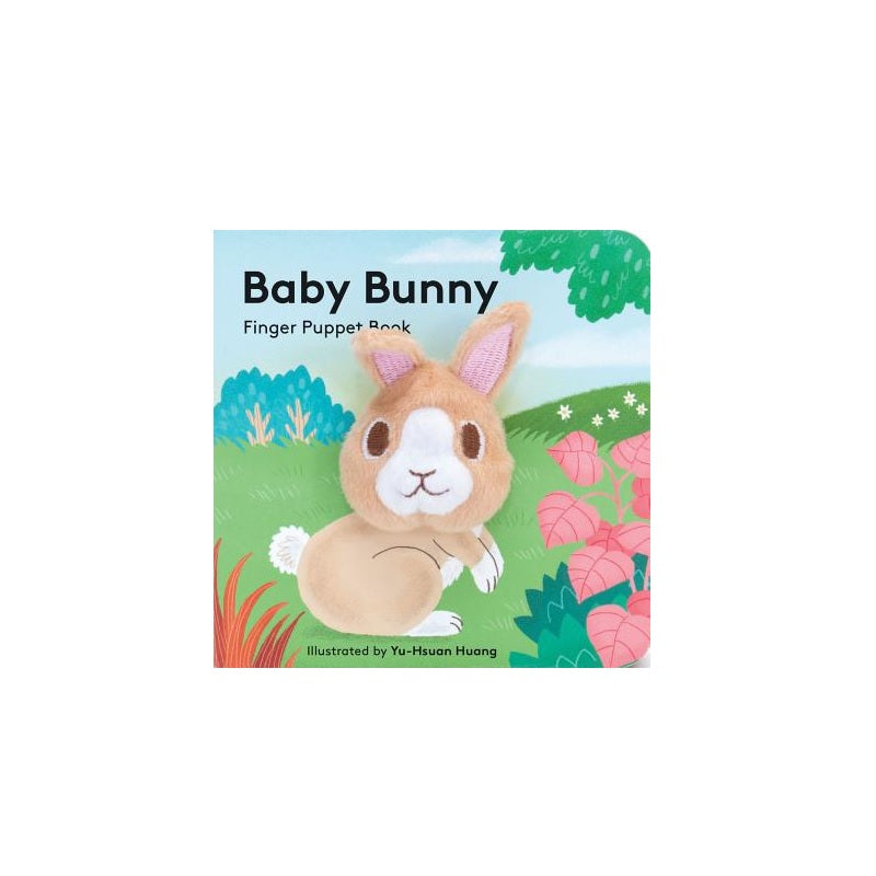 Baby Bunny Finger Puppet Book - The New York Public Library Shop