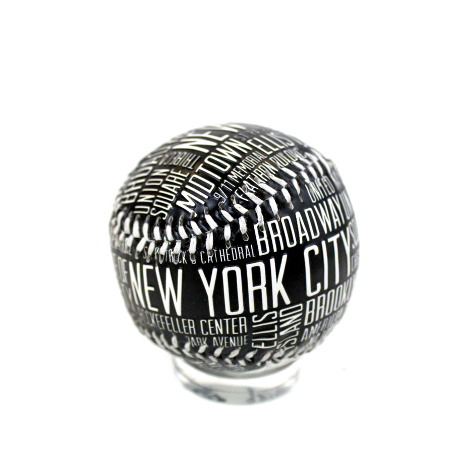 NYC Baseball Typography - The New York Public Library Shop