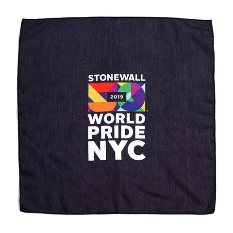Black World Pride Bandana