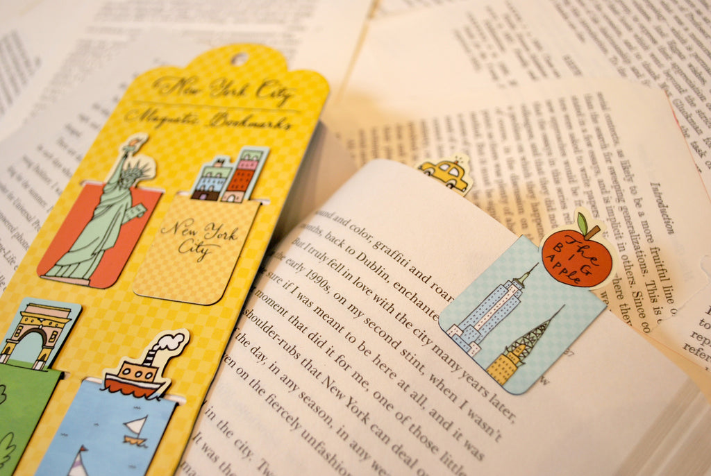 NYC Magnetic Bookmarks - The New York Public Library Shop