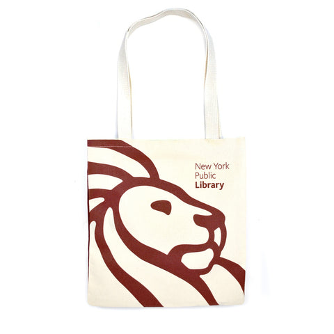 NYPL Borges Tote Bag - The New York Public Library Shop