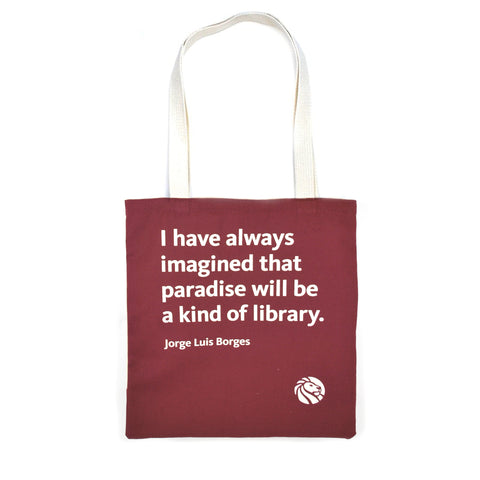 NYPL Borges Tote Bag