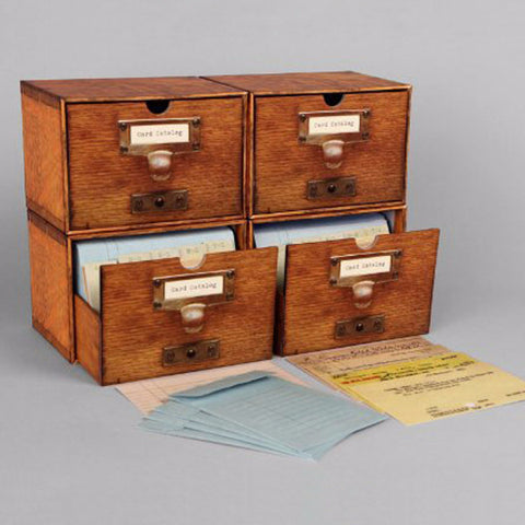 Card Catalog - 30 Notecards - The New York Public Library Shop