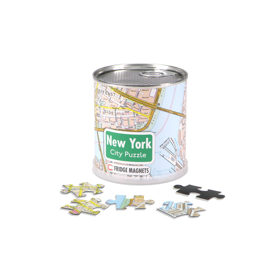 New York City Magnetic Puzzle - The New York Public Library Shop