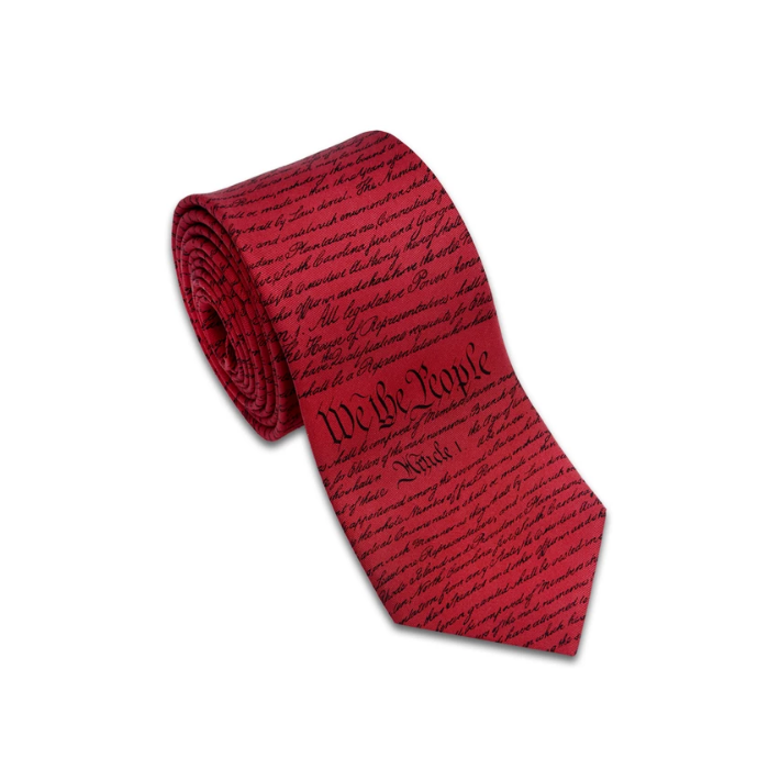 Constitution Tie - The New York Public Library Shop
