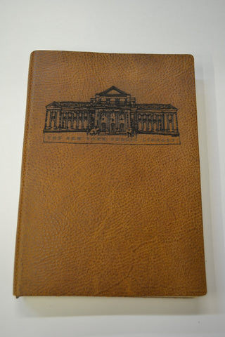 NYPL Building Leather Journal - The New York Public Library Shop