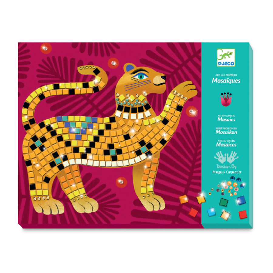 Deep in the Jungle Sticker and Jewel Mosaic Craft Kit