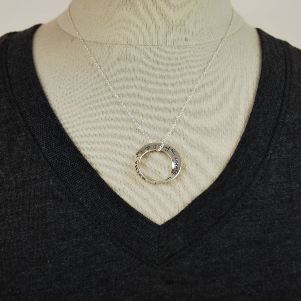 Sisters Mobius Necklace - The New York Public Library Shop