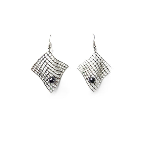 Diamond Armchair Earrings