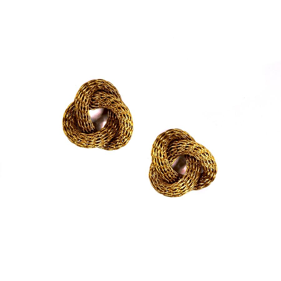 Love Knot Wire Earrings - The New York Public Library Shop