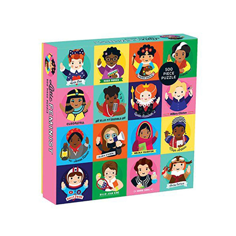 Little Feminists Puzzle - The New York Public Library Shop