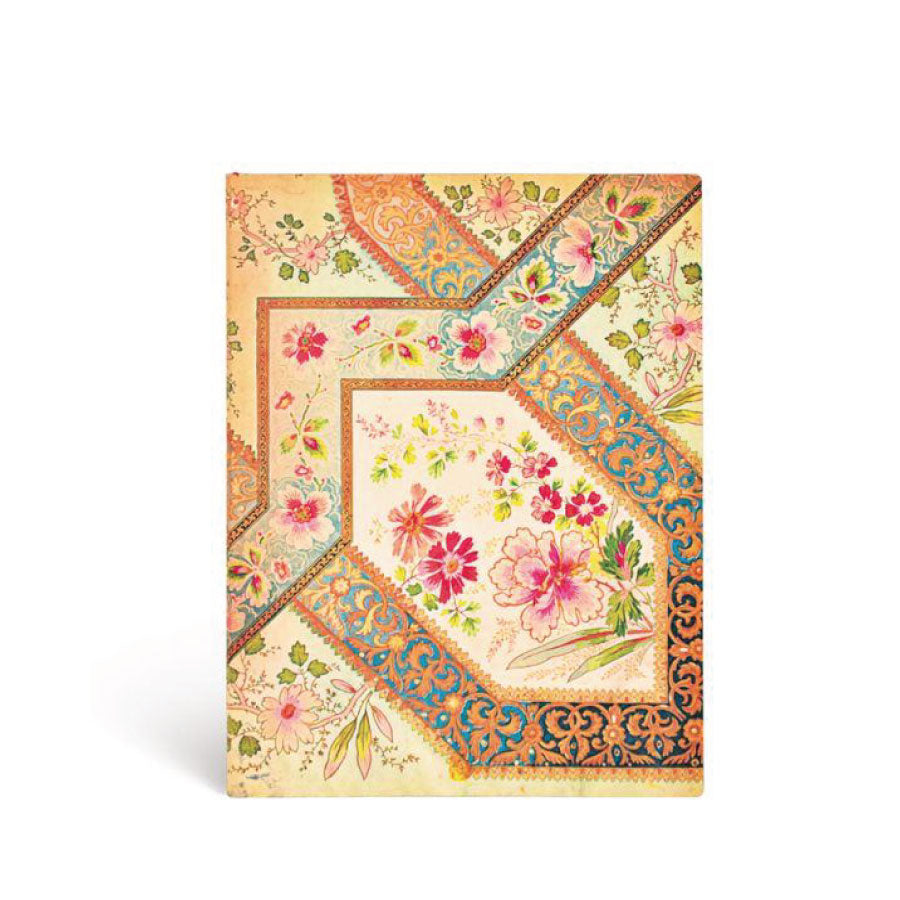Softcover Filigree Floral Ivory Journal