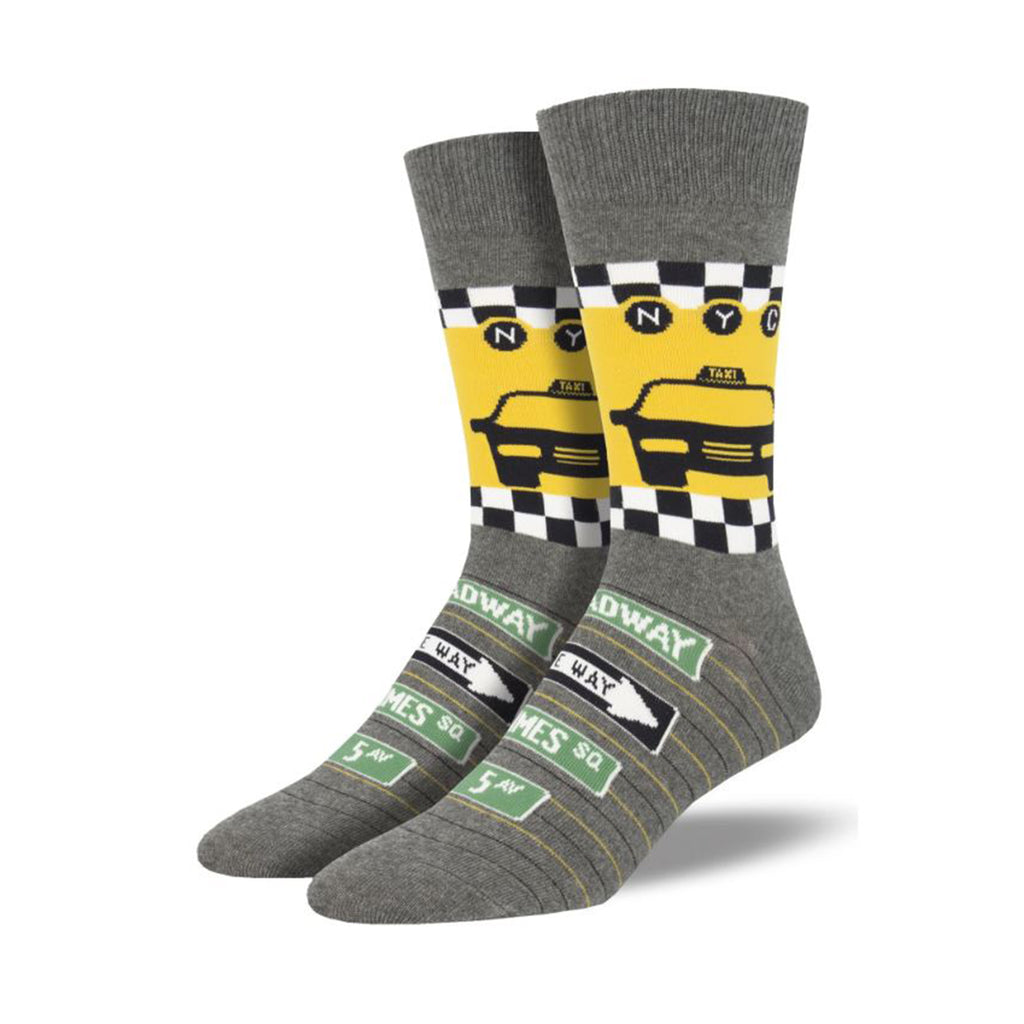 NYC Taxi Men's Socks