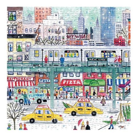 New York City Subway Holiday Puzzle - The New York Public Library Shop