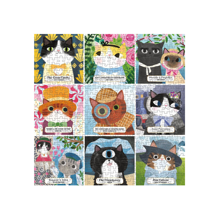 Bookish Cats Puzzle