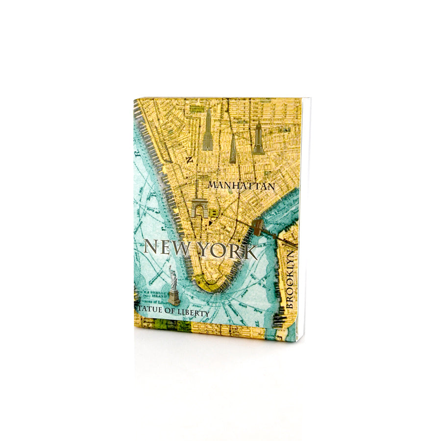 Vintage New York Map Pocket Notepad