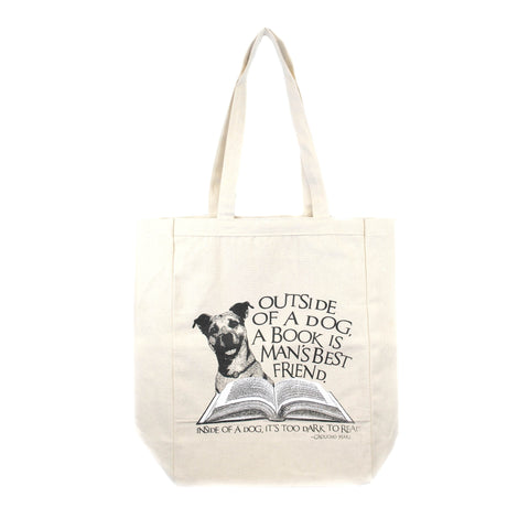 NYPL Dog Tote Bag