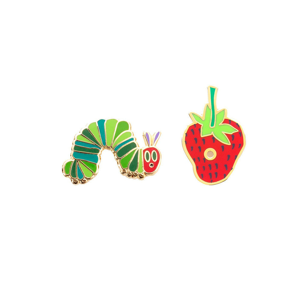 The Very Hungry Caterpillar Pin Set - The New York Public Library Shop