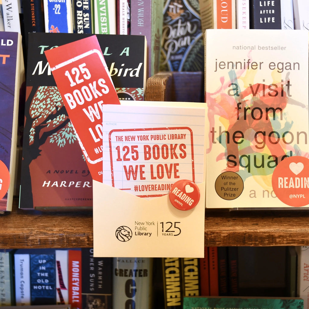 NYPL 125 Books We Love List Mystery Set - The New York Public Library Shop